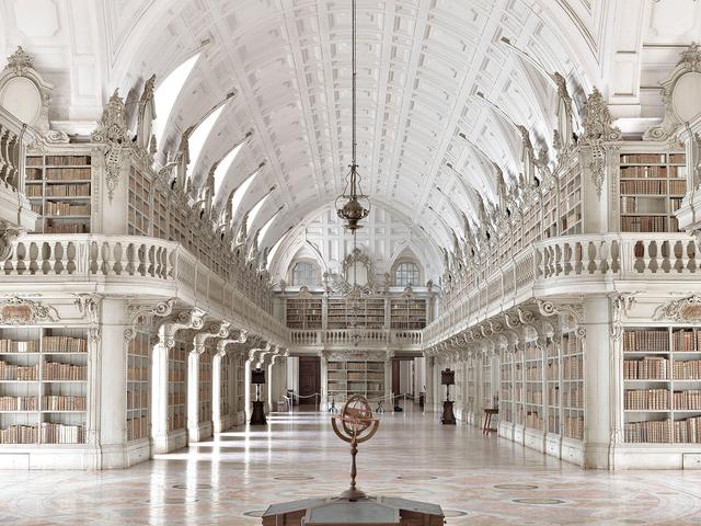 , 'Biblioteca di Mafra III Portogallo,' 2015, Holden Luntz Gallery