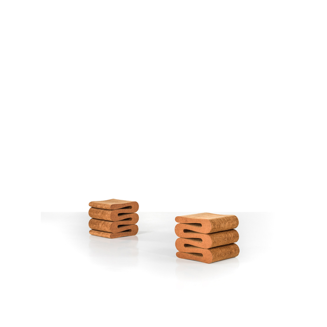 Frank Gehry, 'Wiggle Collection 'Easy Edges', Stools Pair', 1972, PIASA