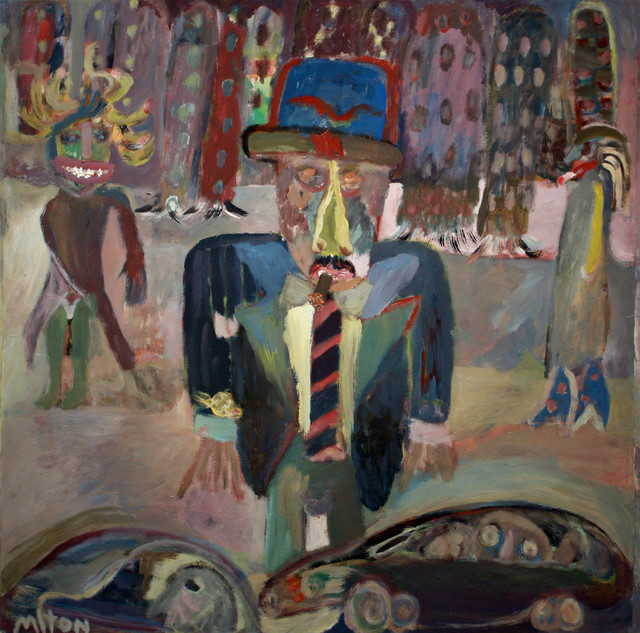 , 'Man in the City,' 1991, Pan American Art Projects