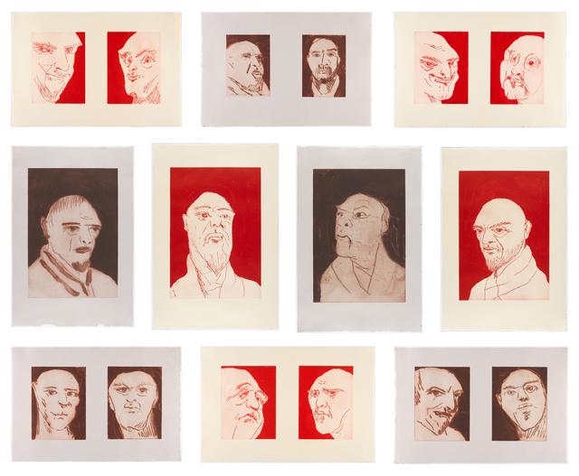 , 'Alte Freunde,' 2010, Carolina Nitsch Contemporary Art