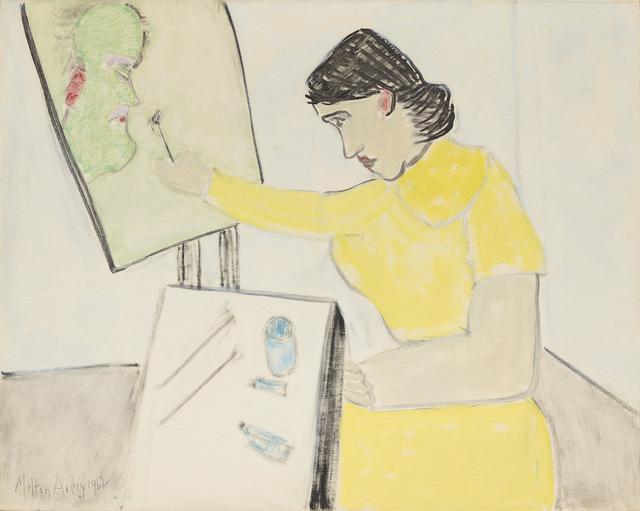 Milton Avery, 'Artist Paints Artist', 1962, Painting, Oil on board, Victoria Miro