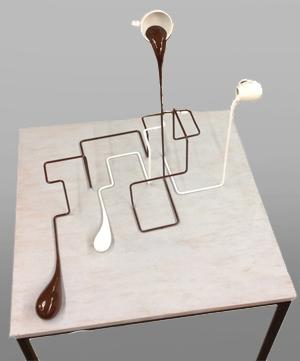 , 'Geometrischer Milchkaffee,' 2015, Mario Mauroner Contemporary Art Salzburg-Vienna