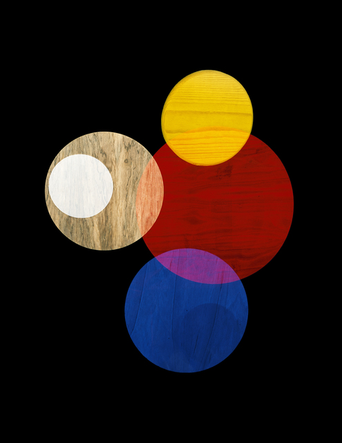 , 'Primay Colors #1 (Circle Studies),' 2017, LaCa Projects