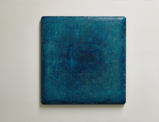 Su Xiaobai, 'Cobalt Blue Charm 魅藍', 2019, Painting, Oil, lacquer, linen and wood, Sean Kelly Gallery