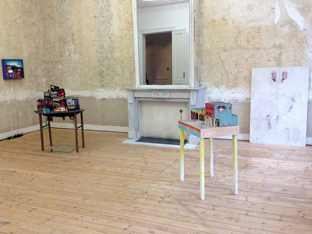 Installation view, Tracey Snelling and Alessandro Procaccioli
