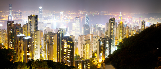 David Drebin, 'Hong Kong Lights', CHROMA GALLERY