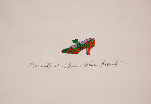 , 'Beauty is Shoe...,' 1955, Susan Sheehan Gallery