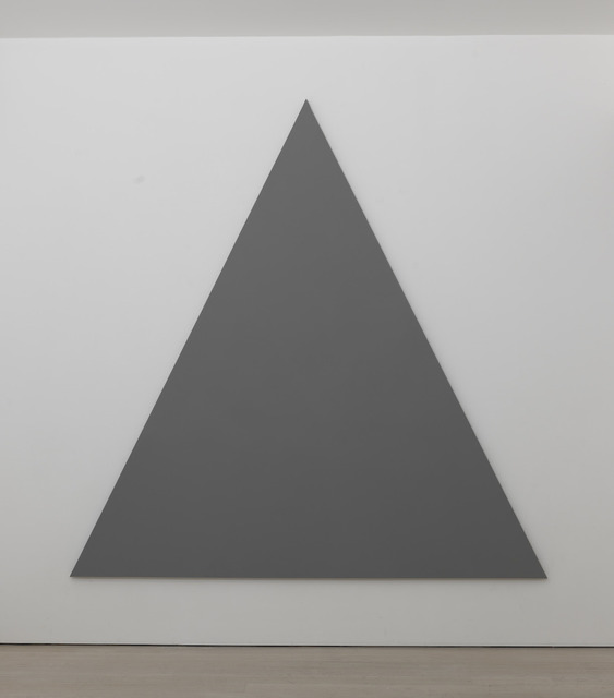 , 'Triangle Painting No. 1,' 2013, Annely Juda Fine Art