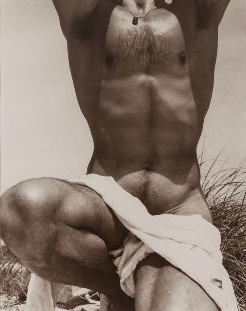 George Platt Lynes, '[Francisco Moncion, Fire Island]', 1952, Doyle