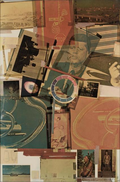 Robert Rauschenberg, 'Core Poster (F. 32)', 1965, Doyle