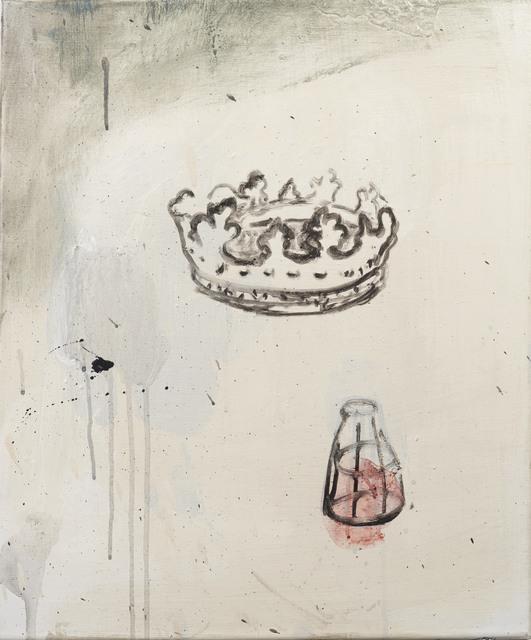 Amina Benbouchta, 'Certains Jours retranchés des autres', 2014, Painting, Acrylic, Sabrina Amrani