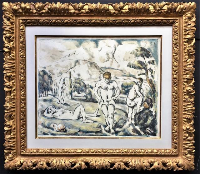 Paul Cézanne, 'Les Baigneurs (grande planche) ( The Bathers, large plate).', ca. 1896-98, Allinson Gallery, Inc