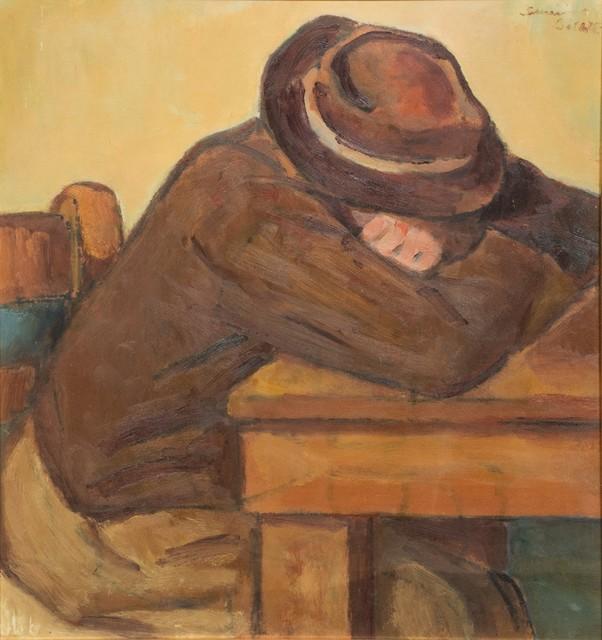 Severino Bellotti, 'Siesta of the farmer', 1976, Finarte