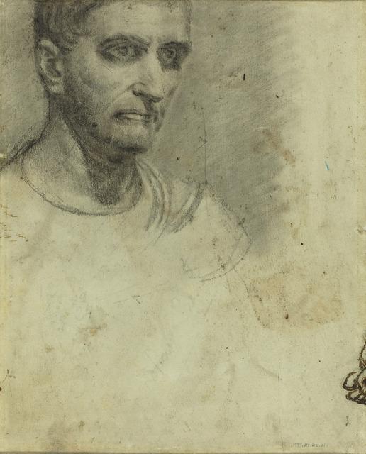 Théodore Géricault, 'Study of a Man [verso]', National Gallery of Art, Washington, D.C.