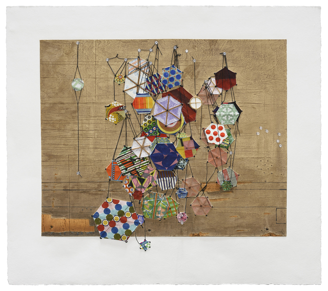 , 'Tiny Rooms and Tender Promises,' 2016, Mixografia