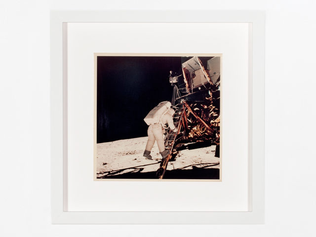 , 'Aldrin descends lunar module ladder,' 1969, Patrick Parrish Gallery