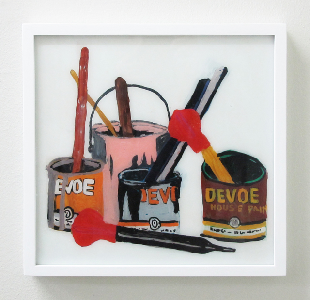 , 'Still Life With Devoe Cans,' 2016, V1 Gallery