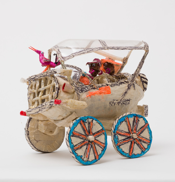 , 'Untitled (WH226 two figures and bird in covered vehicle),' , The Good Luck Gallery