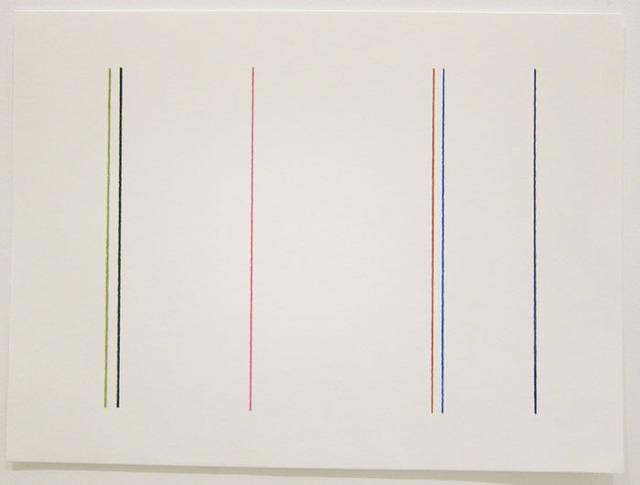 , '6 Linhas,' 2013, Galeria Raquel Arnaud