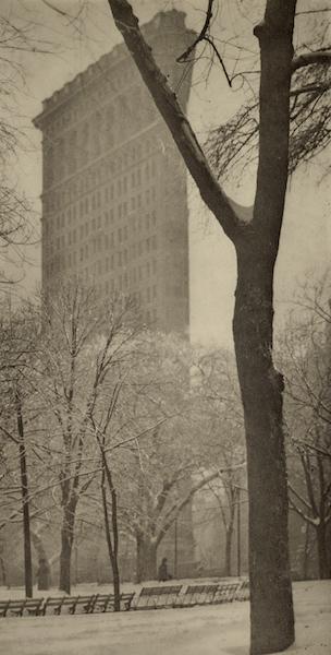 "Alfred Stieglitz, 'The ""Flat-iron""', 1903, Photography, Photogravure, Robert Mann Gallery"