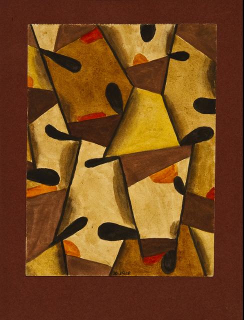 , 'Tapiz,' 1918, Galería Rubbers Internacional