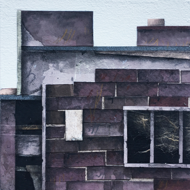 , 'Roof Top Blocks (in purple hues) no. 5,' 2017, BoxHeart