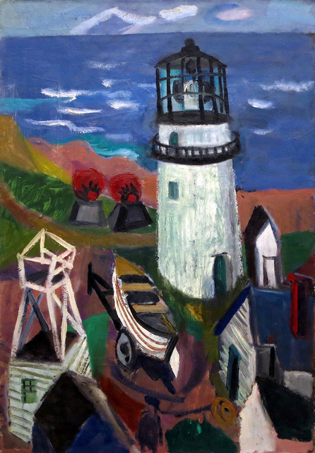, 'Cape Cod Light,' mid 1940s, Greenhut Galleries