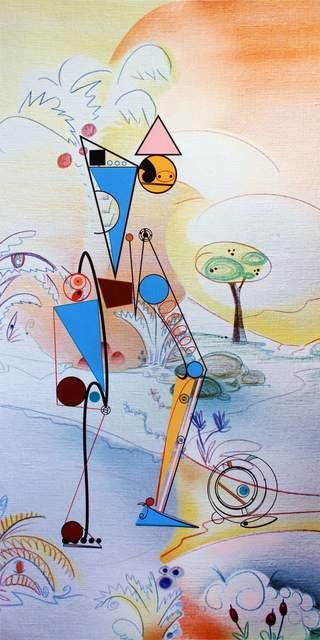 , 'Cyberselvas (2#),' 2017, Galerie Crevecoeur