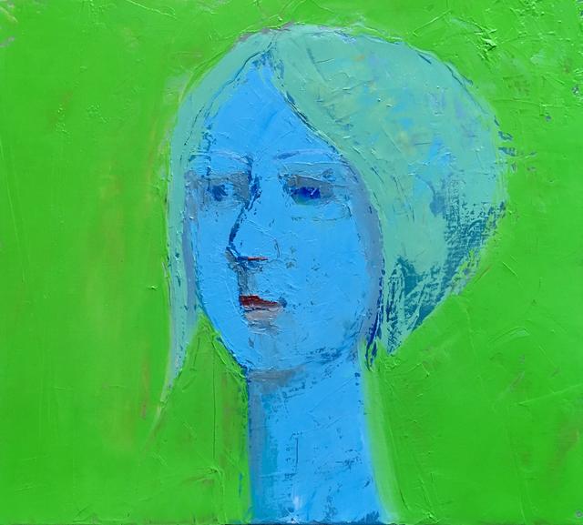, 'Blue Lady,' 2019, M.A. Doran Gallery