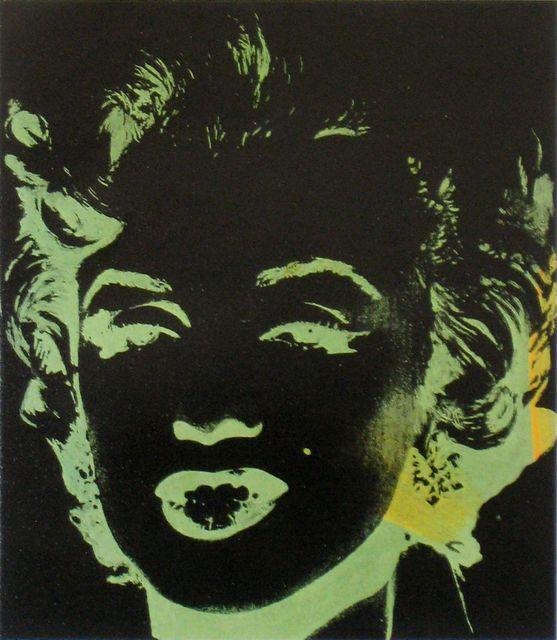 Andy Warhol, 'One Green/Yellow Coloured Marilyn (Reversal Series)', 1979-1986, Joseph K. Levene Fine Art, Ltd.