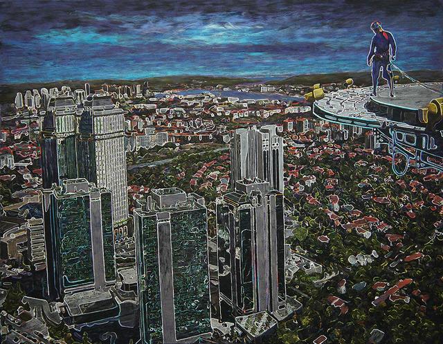, '(Irtifa 3),' 2012-2013, Olcay Art