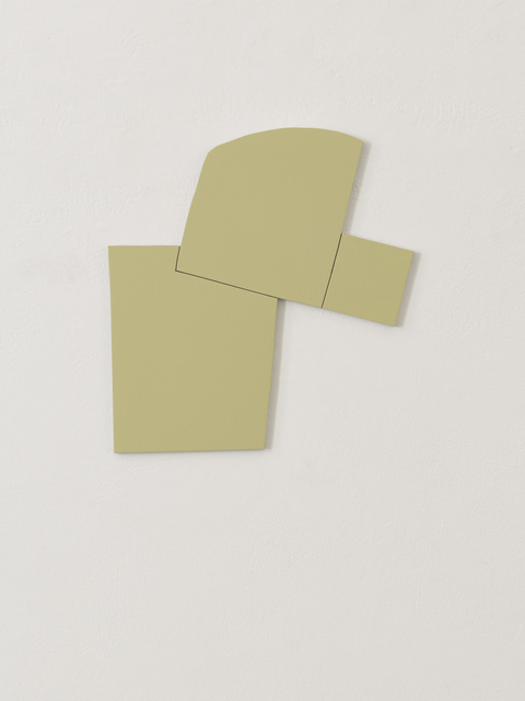 Imi Knoebel, 'Element 1.1', 2017, Sculpture, Acrylic on aluminium, White Cube