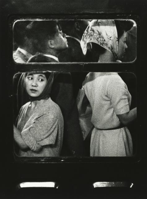 , 'Subway, Tokyo,' 1961, Howard Greenberg Gallery