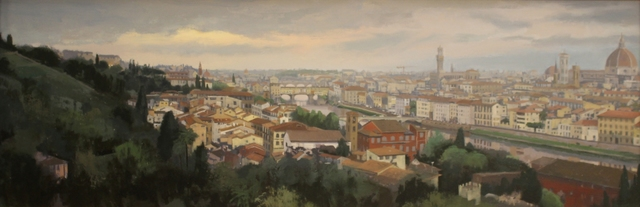 ", '""The Arno at Dawn, Florence Italy (view from Piazzale Michalangelo),' 2018, Bonner David Galleries"