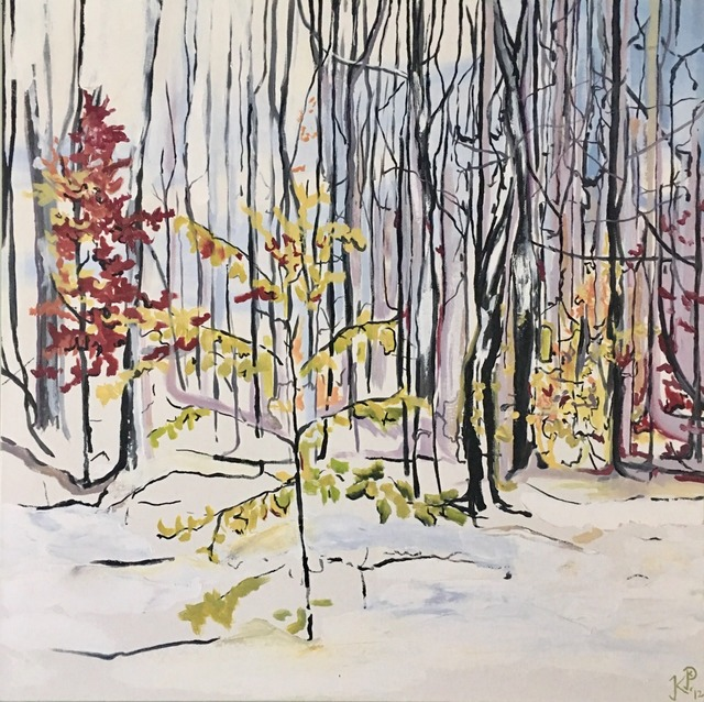 , 'October Snow,' 2012, Clark Gallery