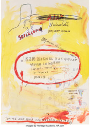 Supercomb, exhibition poster