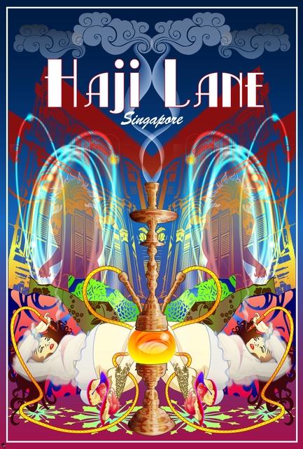 , 'Haji Lane,' 2011, Addicted Art Gallery