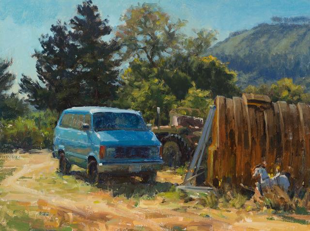 , 'Carmel Blue Van,' 2016, Susan Calloway Fine Arts
