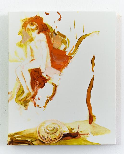 , 'Boy with snail,' 2019, Albert Merola Gallery