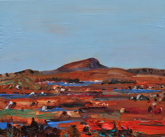 John Hartman, 'Hawke Hills', 2012, Painting, Oil on canvas, Christina Parker Gallery