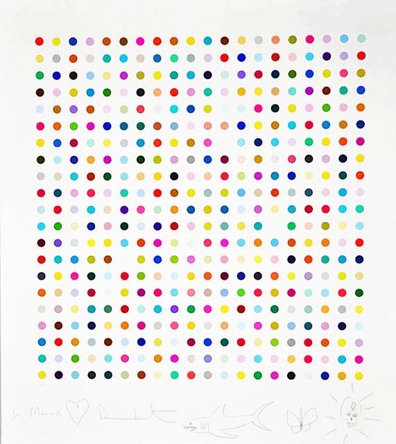 Damien Hirst, 'Hypothalamus Acetone Powder', 2012, Lougher Contemporary Gallery Auction
