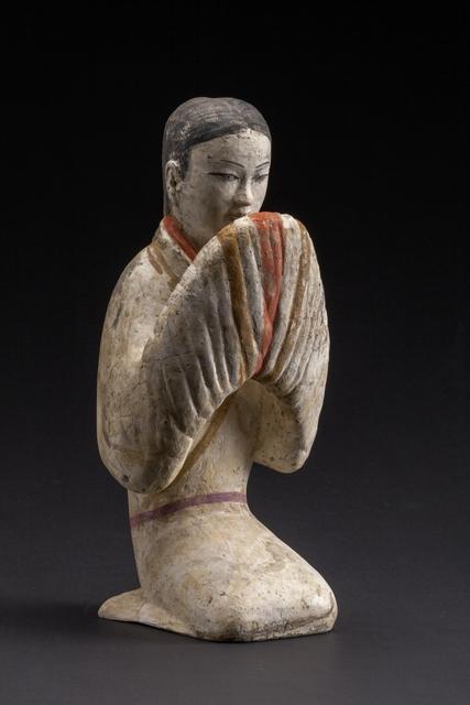 , 'Female figurine,' 206 BC -9 AD, Musée national des arts asiatiques - Guimet