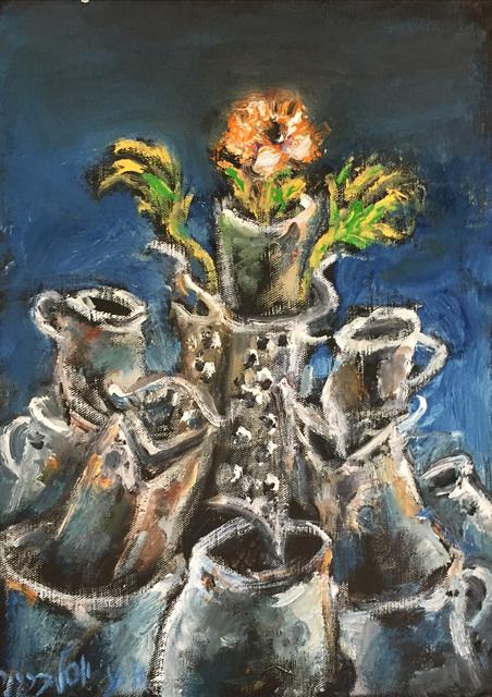 , 'Flower Tower,' 2016, Dan Gallery