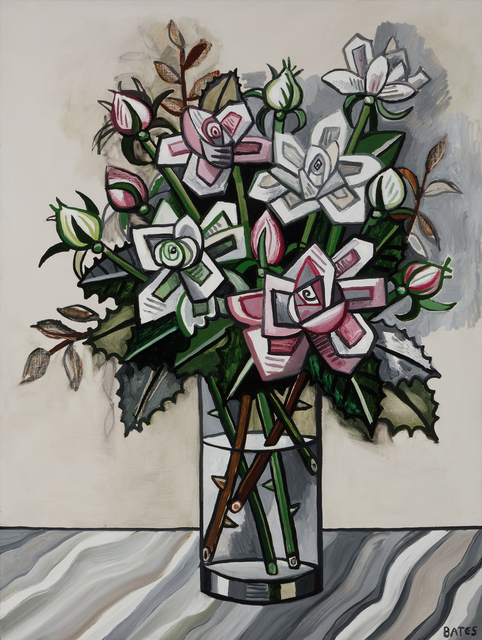 , 'Pink and White Roses,' 2017, Arthur Roger Gallery