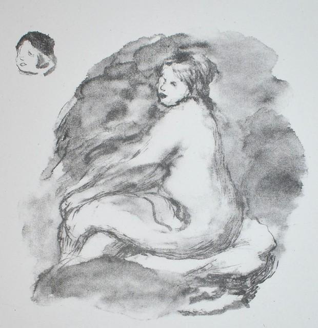 Pierre-Auguste Renoir, 'Etude de Femme Nue, Assise (Variante)', 1919, Georgetown Frame Shoppe