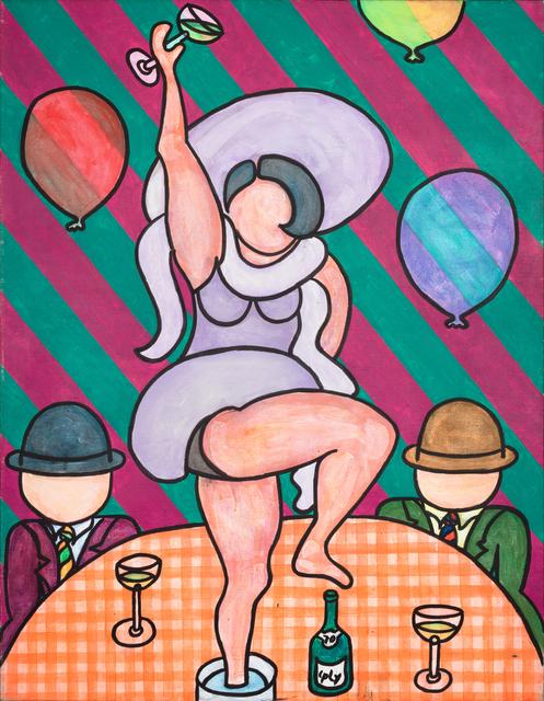 , 'Happy New Year,' 1970, Paul Kasmin Gallery