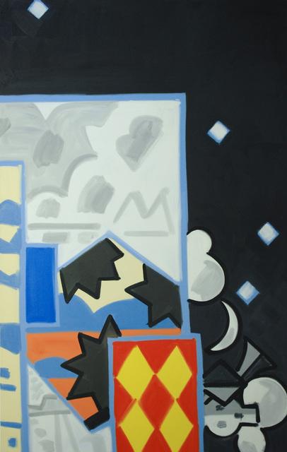 , 'Madrid, Night Studio, All One, falling, #1,' 2004-06, David Richard Gallery