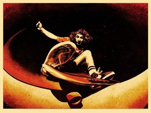 Shepard Fairey, 'Alva Frontside', 2009, KP Projects