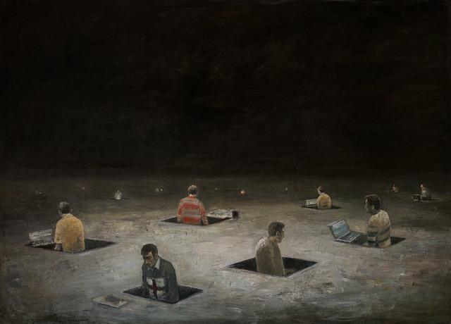 , 'Protagonisten I,' 2010, Slete Gallery