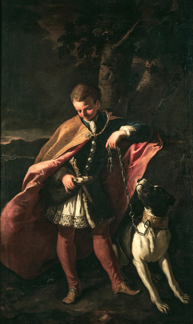 , 'Portrait of Michelino Pagani, the Turkish slave adopted by Marchese Cesare Pagani,' 1696, Robilant + Voena